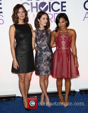 Betsy Brandt, Abigail Spencer and Cristina Milan