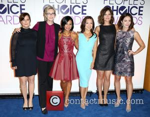 Marcia Gay Harden, Jane Lynch, Cristina Milan, Ming-na Wen, Betsy Brandt and Abigail Spencer