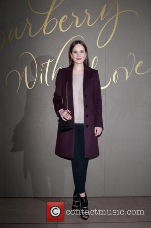 Michelle Dockery Planning Backpacking Trip