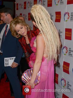 Jane Fonda and Miley Cyrus