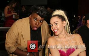Miley Cyrus and Alex Newell