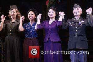 Katie Rose Clarke, Janelle Toyomi Dote, Lea Salonga and George Takei