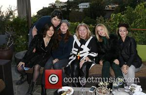 Kathleen York, Lucy Webb, Mena Suvari and Guests
