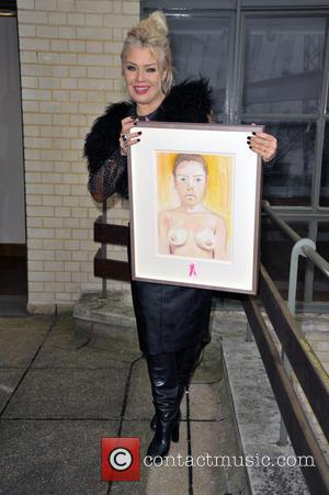 Kim Wilde To Auction Nude Painting For Charity