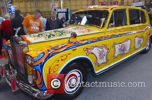John Lennon and Rols Royce