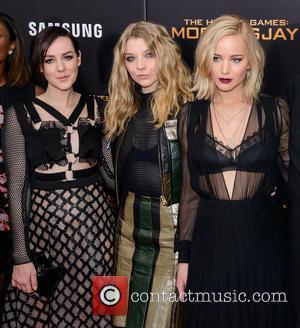 Jena Malone, Natalie Dormer and Jennifer Lawrence