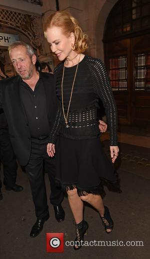 Nicole Kidman Rehearsing New Film In Theatre Dressing Room