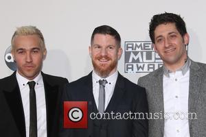Pete Wentz, Andy Hurley and Joe Trohman