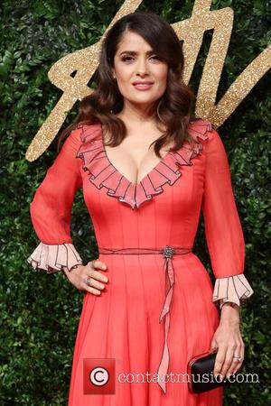 Salma Hayek Mocks Donald Trump Over 9/11 Flub