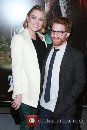 Clare Grant and Husband Seth Green