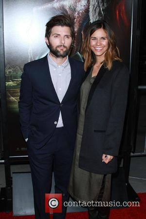 Adam Scott and Wife Marie Kojzar
