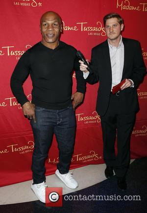 Mike Tyson - Boxing Legend, Entertainer Mike Tyson Unveils World's First Mike Tyson Madame Tussauds Wax Figure In Las Vegas...