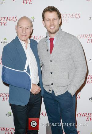 Patrick Stewart Returns To Work After Shoulder Operation
