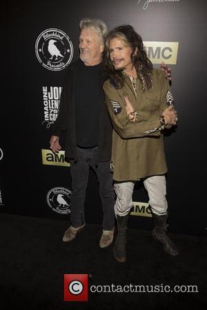 Kris Kristofferson and Steven Tyler