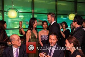 David Beckham and Michelle Yeoh
