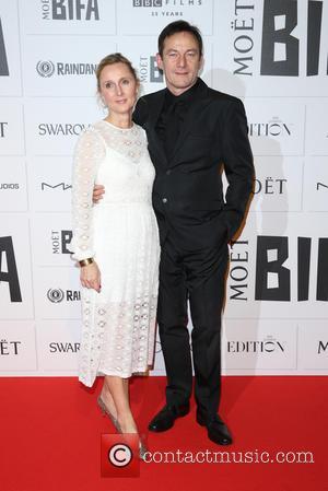 Jason Isaacs and Emma Hewitt