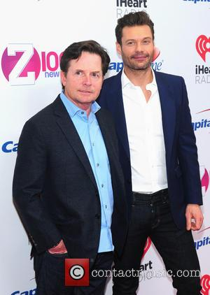 Michael J. Fox and Ryan Seacrest