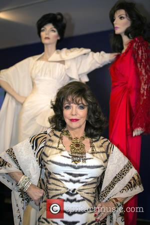 Joan Collins' Investiture Outfit Smashes Auction Estimates