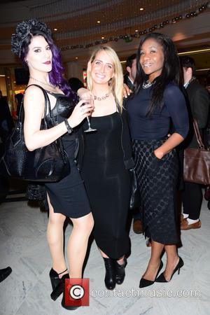Jasz Vegas, Ali Bastian and Karen Bryson