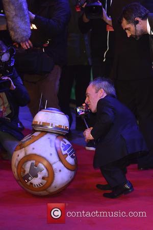 Warwick Davis and Star Wars