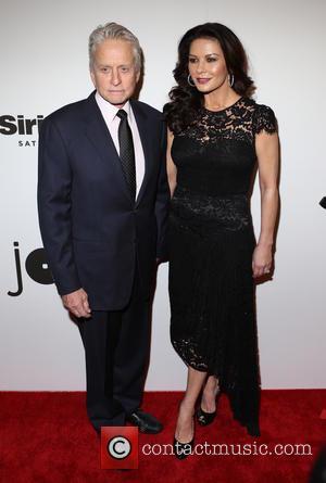 Michael Douglas and Catherine Zeta-‐jones