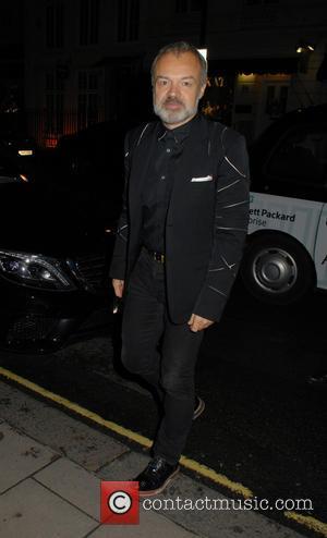Graham Norton - Celebrities attend Sophia Neophitou's 50th birthday party at Claridge's - London, United Kingdom - Sunday 20th December...