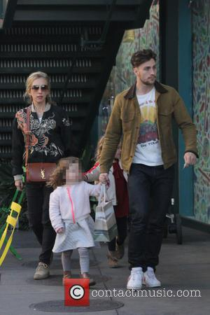 Aaron Taylor-johnson, Sam Taylor-johnson, Wylda Rae Johnson and Romy Hero Johnson