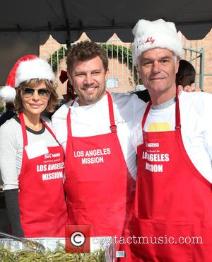 Lisa Rinna, Ben Ford and Harry Hamlin