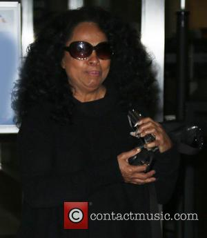 Diana Ross - Celebrities at Los Angeles International (LAX) Airport - Los Angeles, California, United States - Friday 1st January...