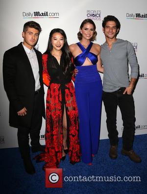 Cody Christian, Arden Cho, Shelley Hennig and Tyler Posey