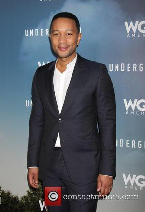John Legend Performs At Ground Zero Mall Opening