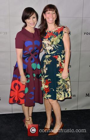 Rosie Perez and Lisa Loene