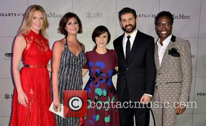 Sarah Arison, Maria Giulia, Rosie Perez, Tony Yazbeck and Billy Porter
