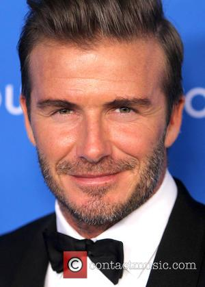 David Beckham Buys Hot Drink For Paramedic And Elderly Patient