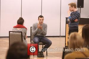 Master Class Students and Anthony Rapp