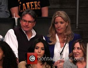 Jimmy Conners and Jeanie Buss