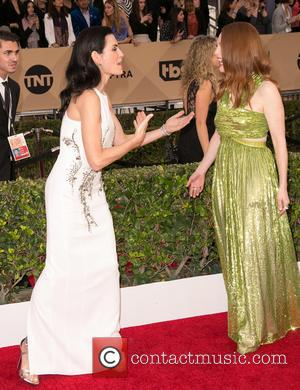 Julianna Margulies and Julianne Moore