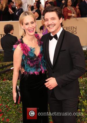 Sarah Paulson and Pedro Pascal