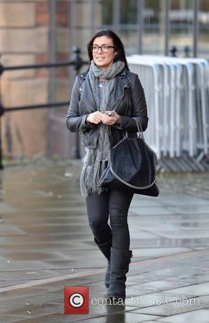 Kym Marsh - Kym Marsh leaves Key 103 Radio Station after co presenting the breakfast show with Mike Toolan. -...