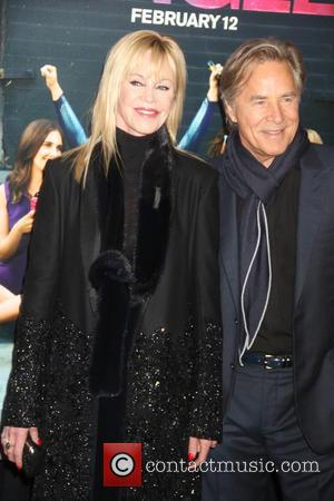 Dakota Johnson and Don Johnson