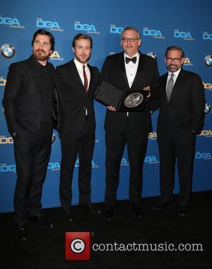 Christian Bale, Ryan Gosling, Adam Mckay and Steve Carrell