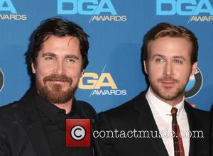 Christian Bale and Ryan Gosling