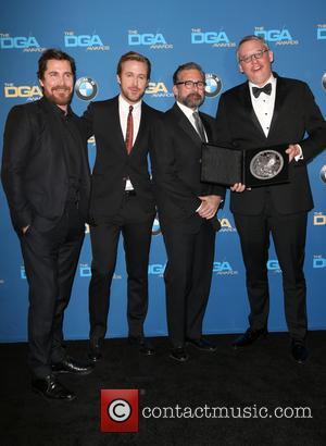 Christian Bale, Ryan Gosling, Steve Carrell and Adam Mckay