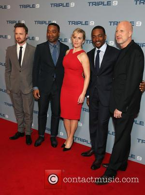 Aaron Paul, Chiwetel Ejiofor, Kate Winslet, Anthony Mackie and John Hillcoat