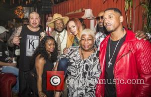 Stevie J, Faith Evans, Luenell and Bishop Don Magic Juan