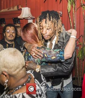 Wiz Khalifa and Faith Evans