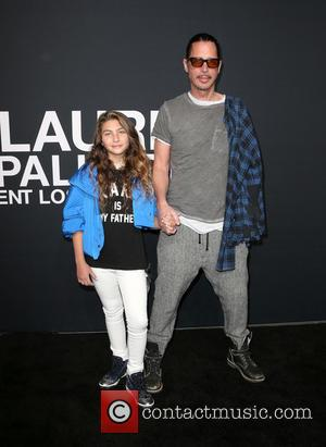 Lily Cornell and Chris Cornell