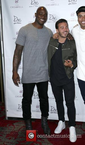 Timbaland and Demarcus Ware