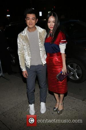 Marc Jacobs and Tiffany Tang