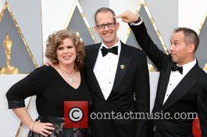Amanda Docter, Pete Docter and Jonas Rivera
